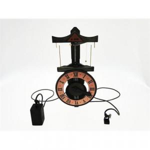 Orologio da Muro in legno funzionante basato su progetto leonardiano Leonardo