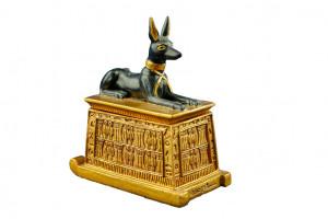 Scatola Egizia con Anubis